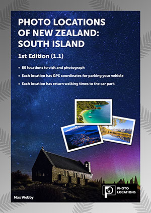 Product image of Photo Locations of New Zealand: South Island 1st Edition (1.1)